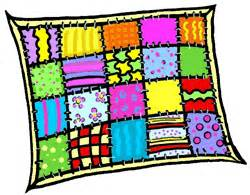 version of quilt clipart