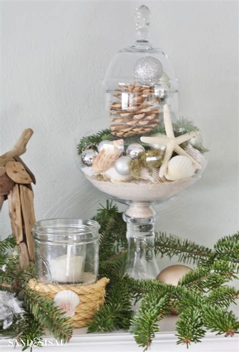 coastal xmas decor home tours coastal home tour part 1 sand and sisal