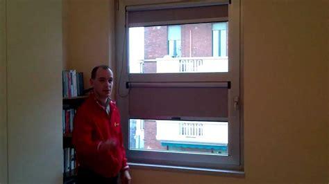 tenda oscurante per finestra tenda a rullo oscurante da posizionare sui fermavetro