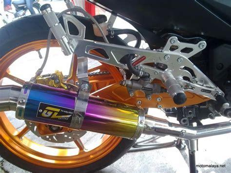 Racing Boy Rcb Rear Master Brake Charcoal racing boy modified yamaha 135lc auto show bike