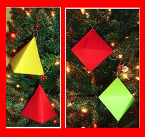 learning ideas grades k 8 make 3d ornaments in math class