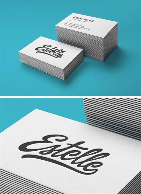 letterpress business card psd mockup template 70 free psd business card mockups for great deals free