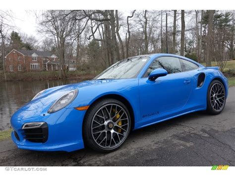 porsche voodoo blue voodoo blue paint to sle 2016 porsche 911 turbo s