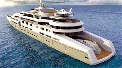 Mobile Home Kitchen Design 1 billion superyacht all about the size