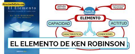 libro el elemento the element resumen del libro el elemento de ken robinson