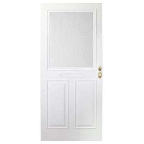 Emco Door by Emco 32 In X 80 In Forever White Store In Door