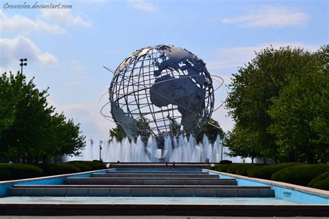 Globe Part 2 by The Globe At Flushing Meadow Park Part 2 By Croweslen On
