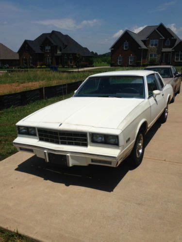 Sell Used 1985 Monte Carlo V6 4 3 18 000 Orignal Miles In