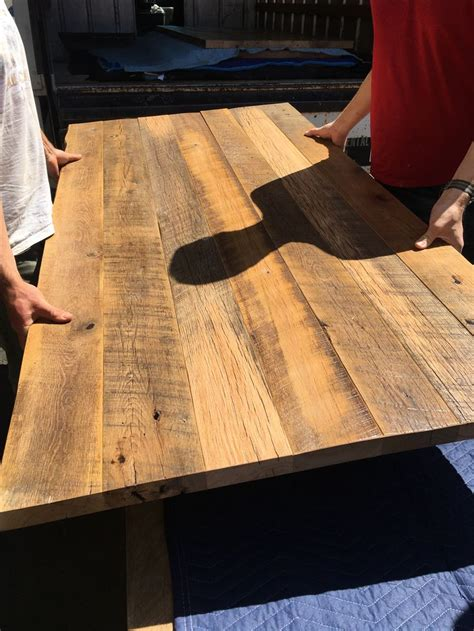 reclaimed dining table top 61 best reclaimed wood tables images on