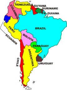 speaking countries in south america map southamerica258 home
