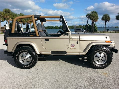 old car owners manuals 1993 jeep wrangler electronic valve timing 1993 jeep wrangler sahara sport utility 2 door 4 0l one owner florida jeep