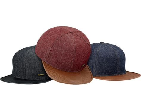 supreme hats supreme fall winter 2011 caps hats freshness mag