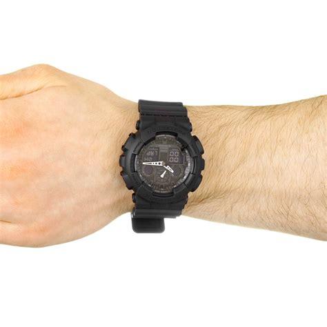 Casio G Shock Ga 100 hommes casio g shock alarme chronographe montre ga 100 1a1er
