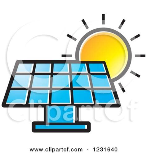 royalty free solar panel clip art vector images clipart of a black and white happy sun icon royalty free