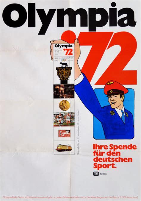ebay wohnung münchen olympische spiele 1972 m 252 nchen motiv quot werbung deutsche