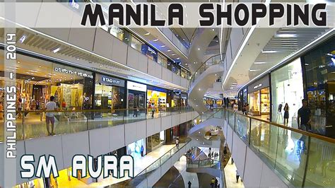 philippines shopping at premier sm aura mall