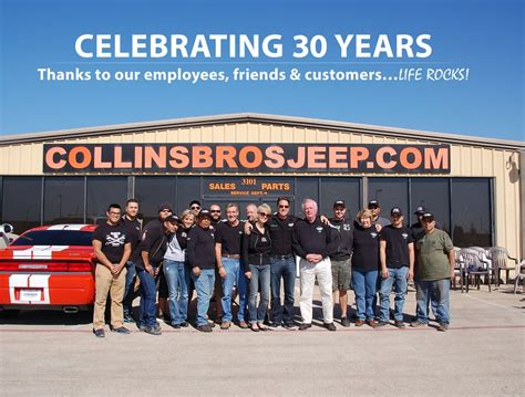 Collins Brothers Jeep Collinsbros Jeep Is Celebrating 30 Years In Business Yelp