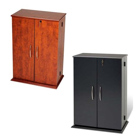 Cupboard Vs Cabinet prepac small deluxe cd dvd vhs cabinet vs 0136 black or cherry