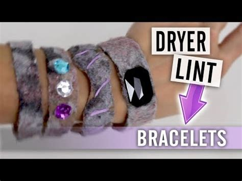 Make Paper From Dryer Lint - how to make bracelets out of dryer lint and toilet paper