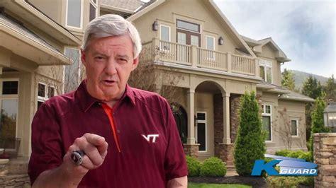 frank beamer house k guard frank beamer commercial youtube