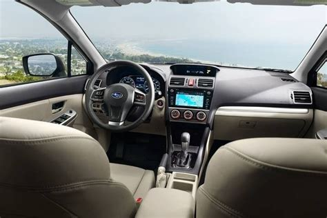 2016 subaru impreza hatchback interior 2016 subaru impreza hatchback review ratings edmunds
