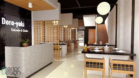 design cafe jepang dora yaki kedai jepang gresik jawa timur
