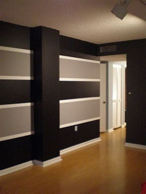 Best Way To Paint Line Between Wall And Ceiling - 25 best paint stripes ideas on painting