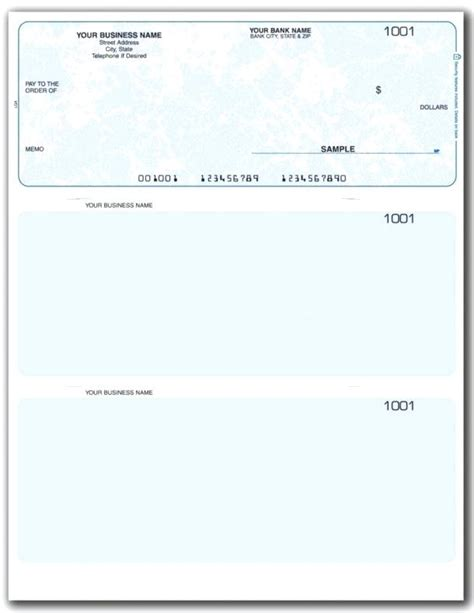 Check Template Pdf Virtuart Me Personal Check Template Pdf