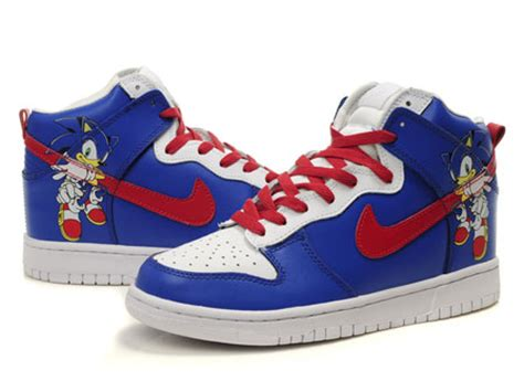 sonic the hedgehog shoes for sonic the hedgehog nike dunks custom shoes