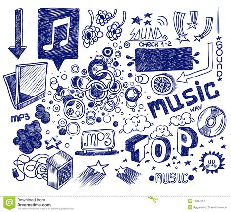 how to create a free doodle doodles stock vector image of background