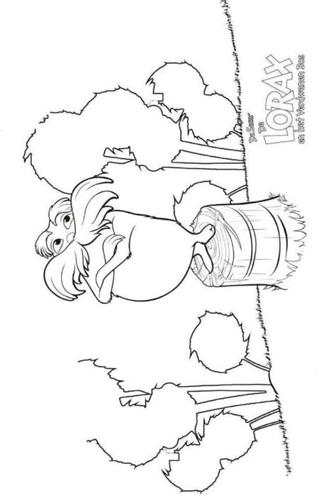 humming fish lorax coloring pages