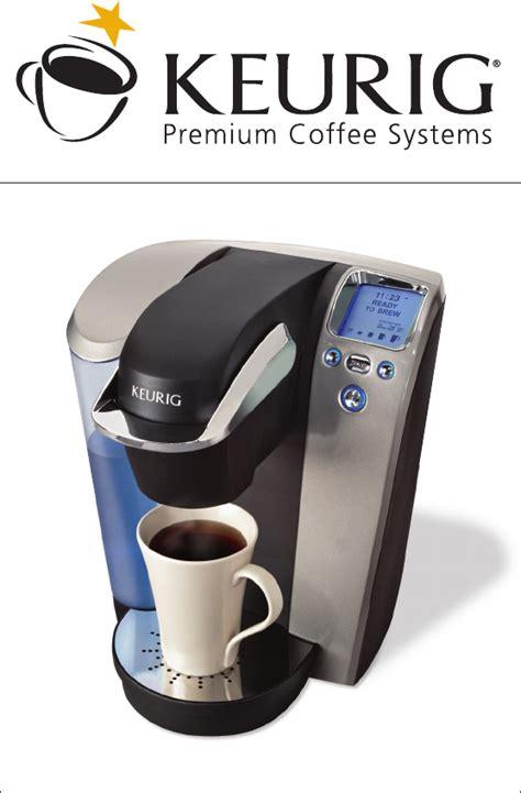 Keurig Coffeemaker B70 User Guide   ManualsOnline.com