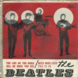 The Beatles Siluet 01 Btl beatlemania beatles records in brazil