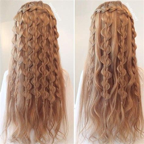 amazing hair plaits best 25 fishtail waterfall braids ideas only on pinterest