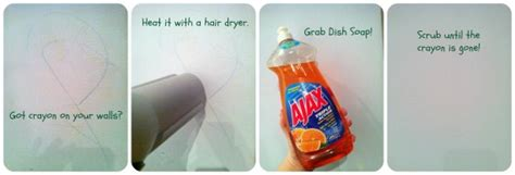 remove crayon from wall 10 unusual uses of hair dryers you didn t know before
