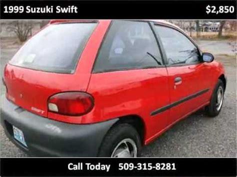 how to sell used cars 1999 suzuki swift windshield wipe control 1999 suzuki swift used cars spokane valley wa youtube