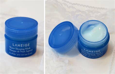 Laneige Water Sleeping Mask Fullsize Original new skincare laneige advanced hydration kit review lovely complex