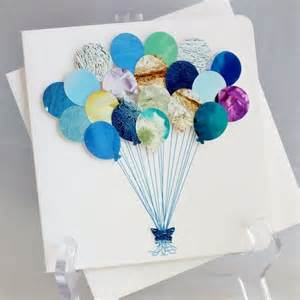 balloons greeting card happy birthday card baby boy card childs birthday card birthday