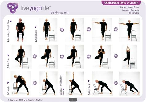 chair routines for seniors easy poses for seniors with a chair level 2