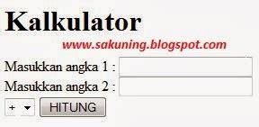 membuat aplikasi web service sederhana cara membuat aplikasi kalkulator web service sederhana