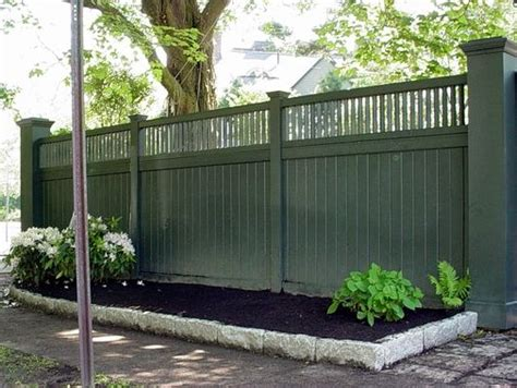 25 best ideas about fence styles on pinterest front