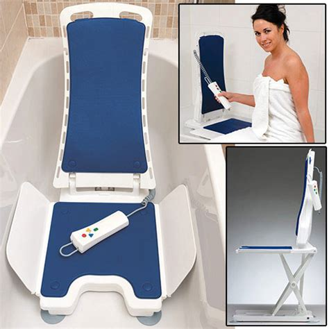 bellavita bath lift blue electric bath lifts