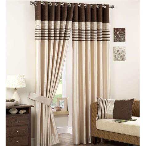 natural and black curtains tab top curtain ideas interior decorating and home