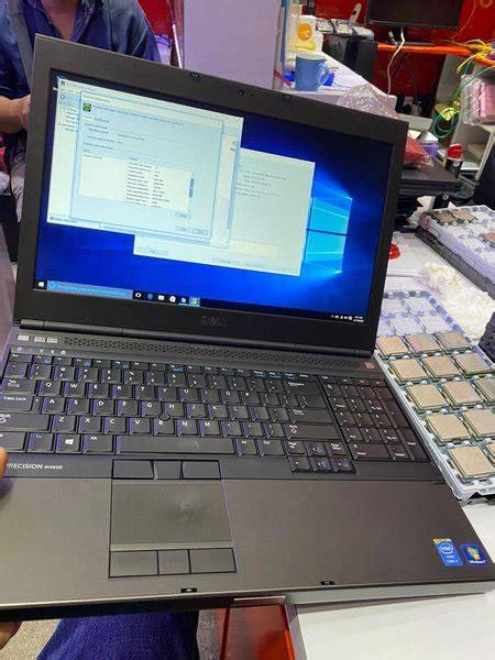 jual laptop dell precision core mq ram gb