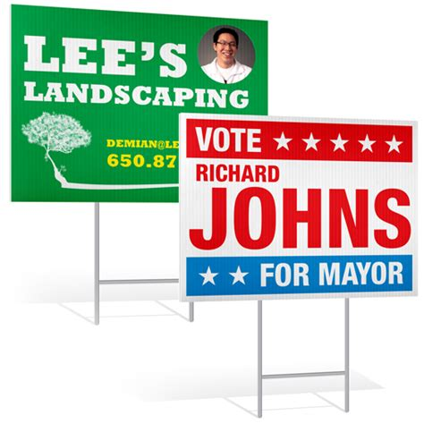 Custom Backyard Signs by Custom Yard Signs Personalized Lawn Signs
