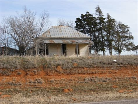 Dewey Post Office by Visit These 5 Creepy Ghost Towns In Oklahoma At Your Own