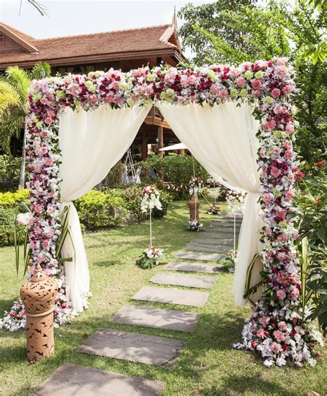 Wedding Arch No Flowers by Wedding Arch Magnificent Large Wedding Flower Arch