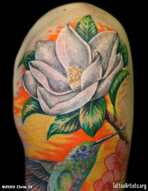 tattoo magnolia flower 13 magnolia shoulder tattoos