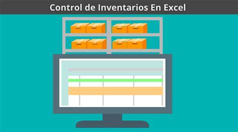 control de inventario en excel c 243 mo crear un control de inventario en excel en 5