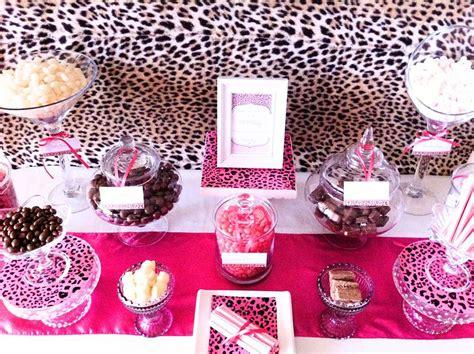 Brown Pink Cheetah Print  Ee  Birthday Ee    Ee  Party Ee    Ee  Ideas Ee